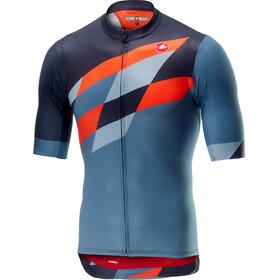 Castelli Tabularasa Fietsshirt korte mouwen Heren oranje/blauw